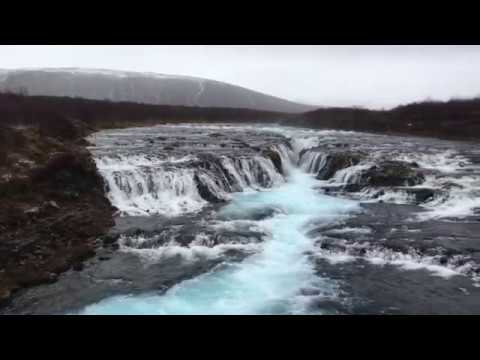 Iceland's Secret Waterfalls: Photographing Bruarfoss Waterfall