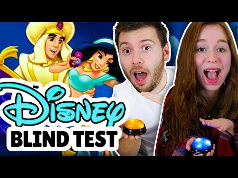 BLIND TEST DISNEY - NEWTITEUF VS MISS JIRACHI