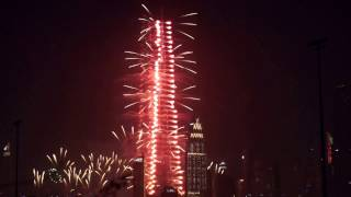 New Years Eve 2017 Fireworks Dubai Burj Khalifa