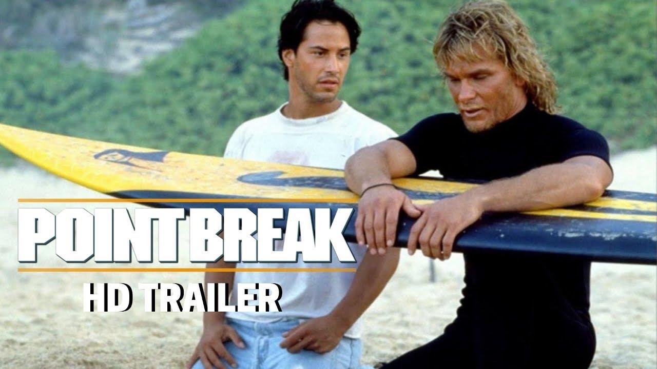Download POINT BREAK (1991) Trailer #1 - Patrick Swayze - Keanu Reeves