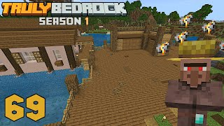 The Seapickle Farm gets a home    also Villagers are Broken! Truly Bedrock s1 ep69