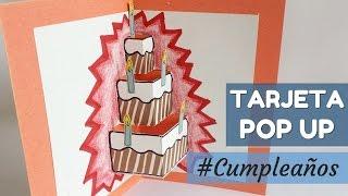 Sobre Incluido SJUNJIE Tarjeta de Cumplea/ños Pop Up 3D Tarjeta de Cumplea/ños Regalo para Familiares Amigos y Amantes