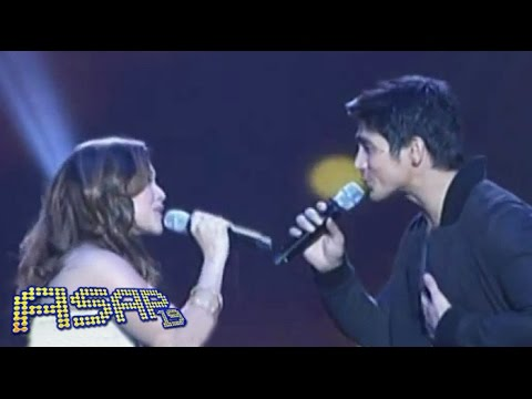 Carol Banawa sings 'Bakit Di Totohanin' with Piolo
