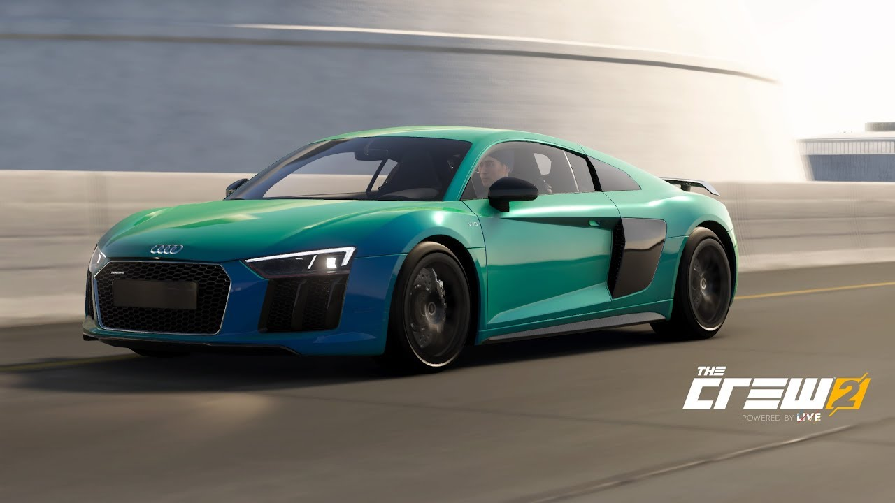 the crew 2 audi r8 gameplay ps4 pro youtube. Black Bedroom Furniture Sets. Home Design Ideas