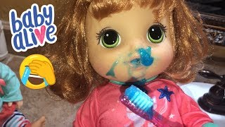 Baby Alive Emma and Penny's NIGHT ROUTINE baby alive video