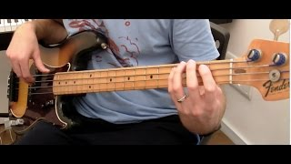"""I heard it through the Grapevine"" Bass Playalong - Fender Precision, Labella 760M Jamerson"