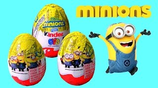Minions Kinder Egg Surprise - Kinder Ovo Surpresa do Filme Minions