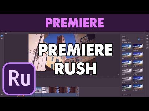 Montaggio Video con Adobe Premiere Rush (Tutorial ITA) thumbnail