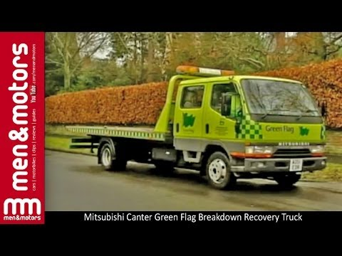 Mitsubishi Canter Green Flag Breakdown Recovery Truck