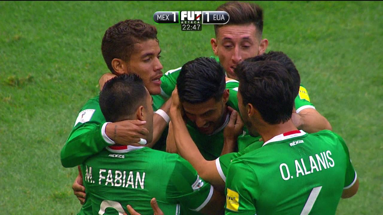 Мексика - США 1:1 видео