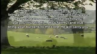 He will carry you  (heber vega)