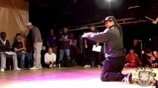 Monsta Pop vs Greenteck - Popping Day One - BBoy Championships 2010