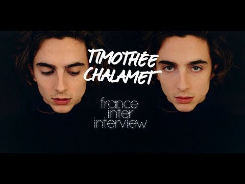 Timothée Chalamet French Radio Interview