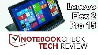 lenovo Flex 2 Pro 15  video review