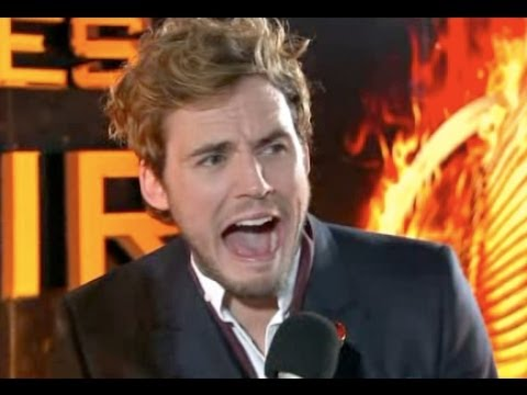 Sam Claflin Interview at Catching Fire UK Premiere