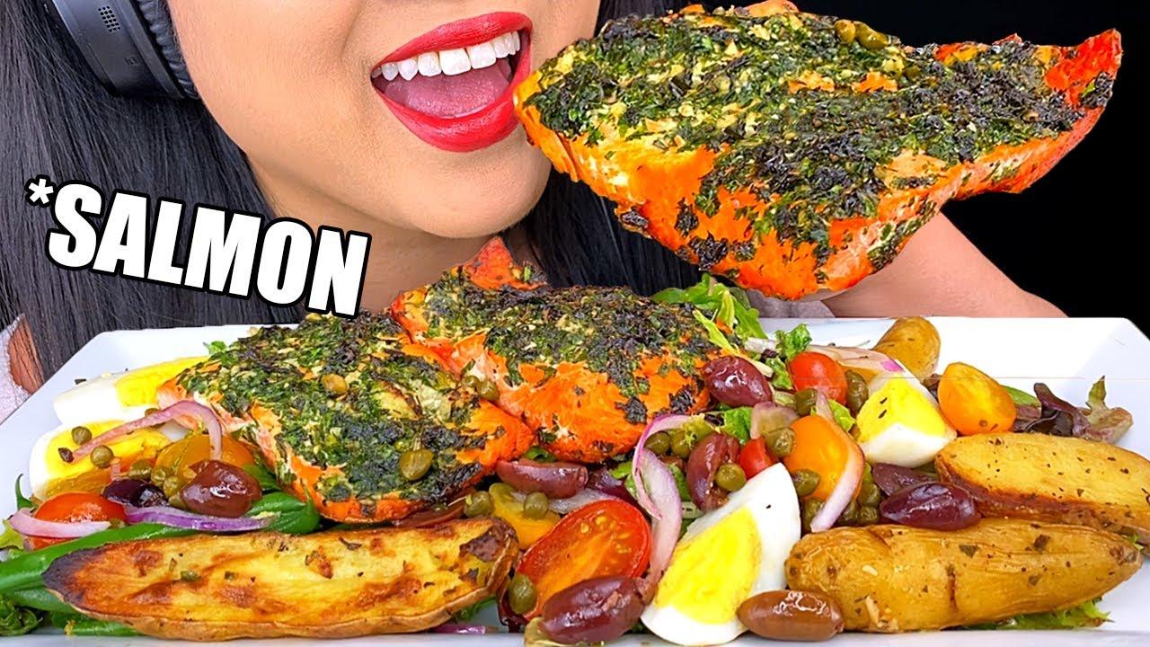ASMR Salmon | ASMR Phan