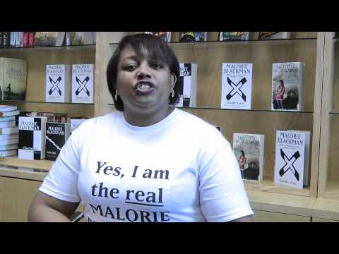 Malorie Blackman introduces her book Boys Don't Cry