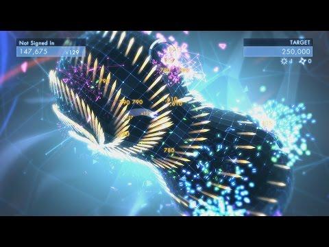 5 Minutes of Geometry Wars 3 Gameplay - PAX Prime