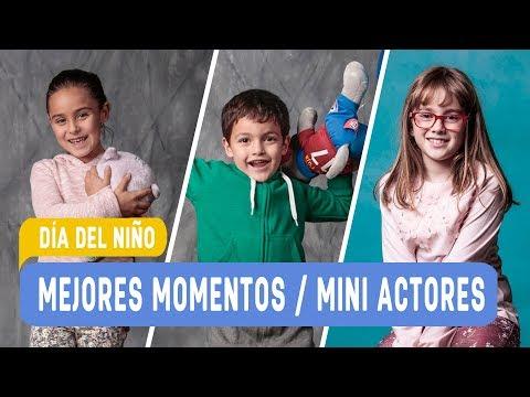 Día del niño en Mega / Mejores Momentos mini actores / Mega