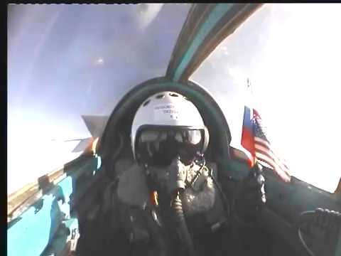 Natasha Pavlovich Mig-25 Flight