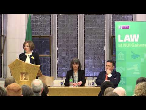 NUI Galway Annual Distinguished Law Lecture 2017