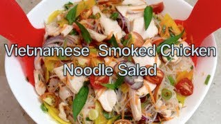 Vietnamese Smoked Chicken Salad Gluten Free Video Recipe Cheekyricho