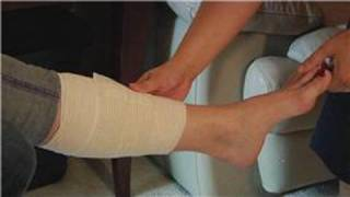 Wrapping & Taping Injuries : How to Wrap a Leg in an Ace Bandage