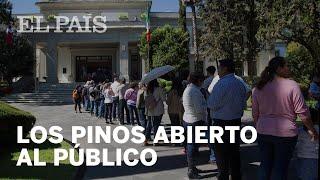 López Obrador muestra hasta el último rincón de Los Pinos