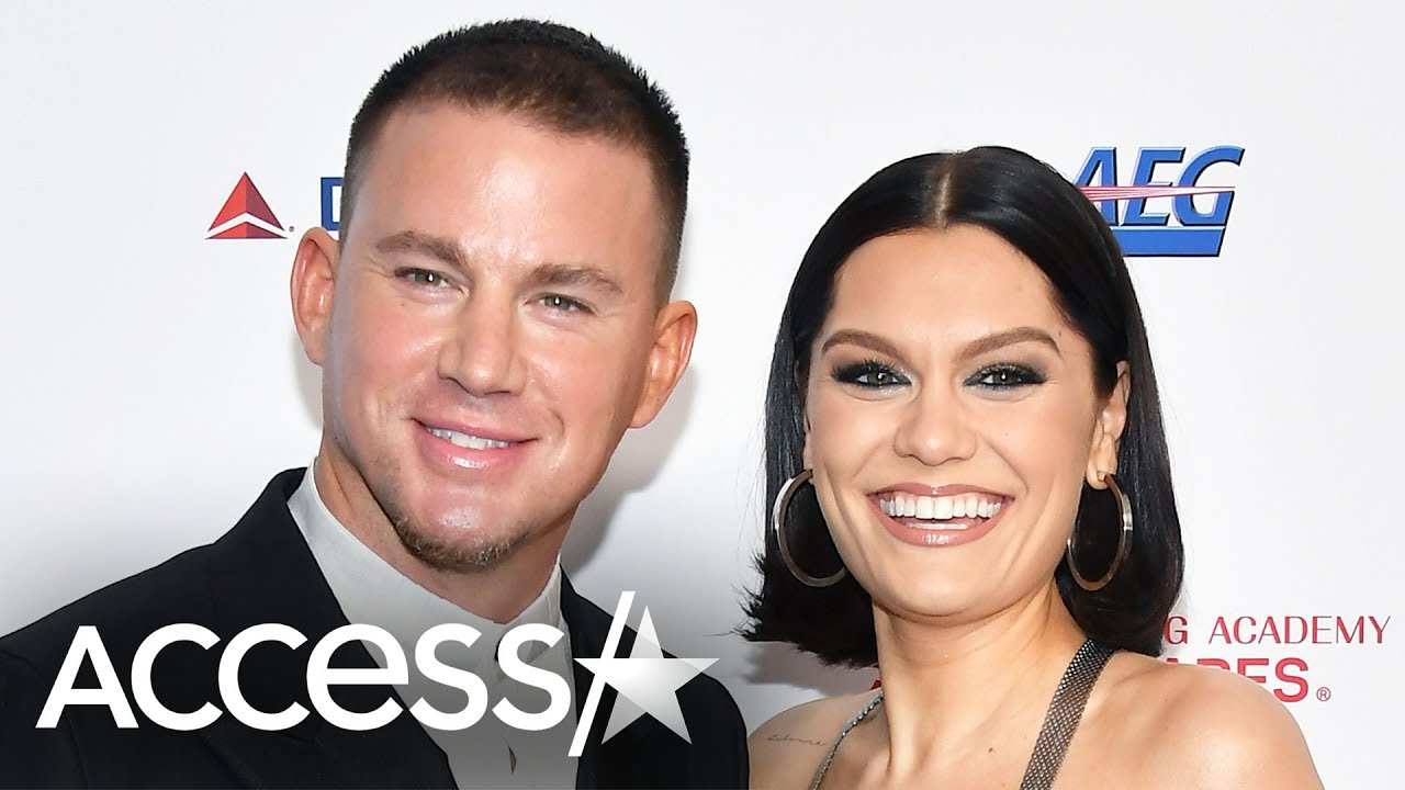 Channing Tatum And Jessie J Celebrate Their Reunion With First Red Carpet Date Night