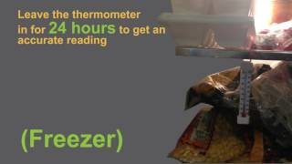 How To Use A Refrigerator/freezer  Thermometer