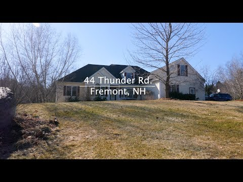 New Hampshire Real Estate Video Tour | 44 Thunder Rd. Fremont, NH