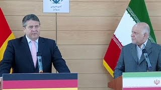 Вице-канцлер ФРГ в Иране