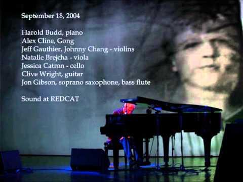 Harold Budd - 2004 Live (audio)