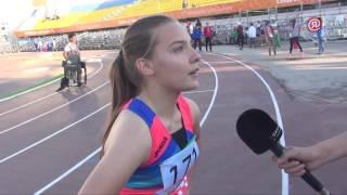 Золотая медалистка Елена Пехтерева: Я очень рада, что приехала на Игры «Дети Азии»