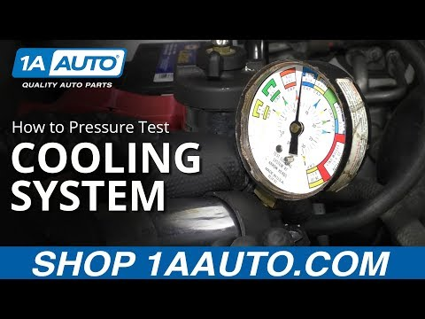 How to Pressure Test Vehicle Cooling System