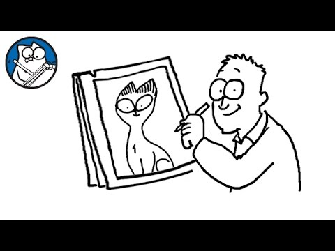 Simon Draws: Siamese Cats - Simon's Cat | CREATIVE
