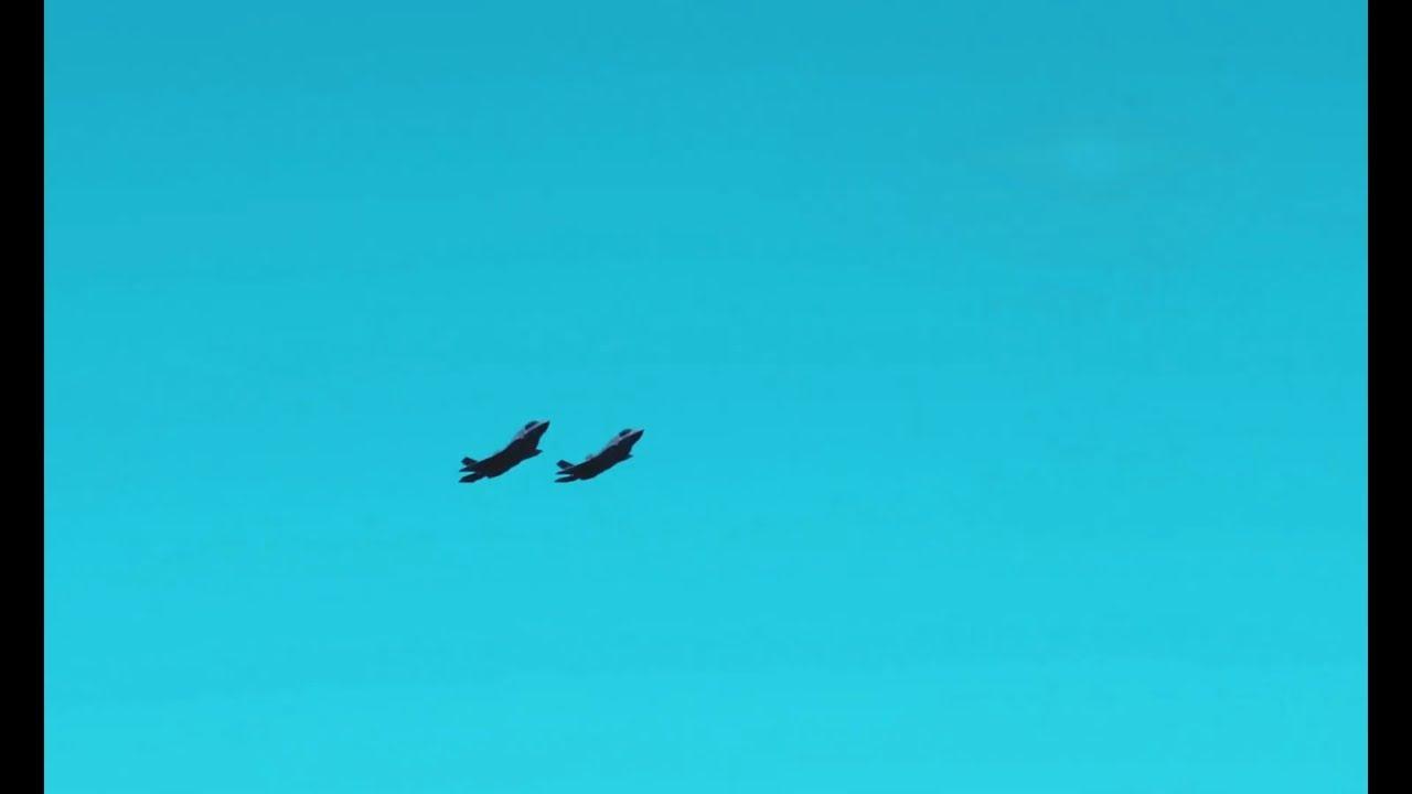 U.S. Marine Corps F-35B Lands on JS Izumo - Watch!