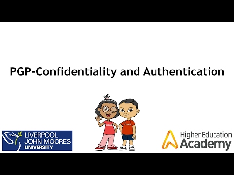 PGP Confidentailty and Authentication