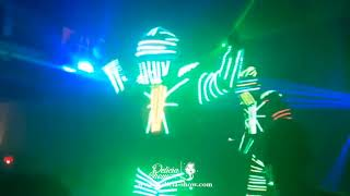 Robot led discothèque