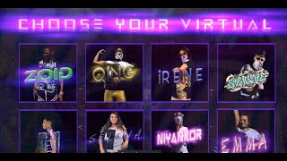 "AKI & THE VIRTUALS: ""CHOOSE YOUR VIRTUAL"""