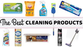 THE BEST HOUSEHOLD CLEANING PRODUCTS |10 PRODUCTS THAT MAKE CLEANING SO MUCH EASIER