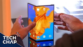HUAWEI Mate X First Look - The FOLDING FUTURE is Here!   The Tech Chap
