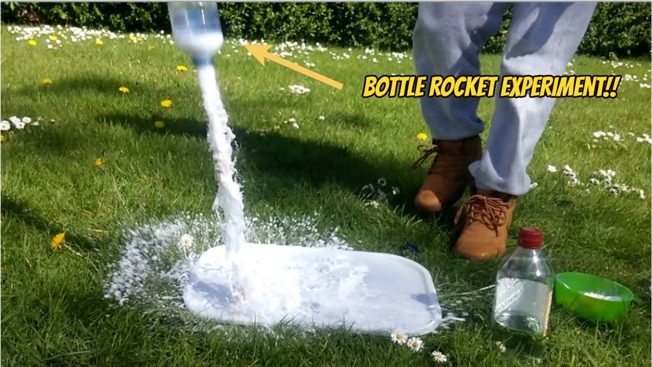 bottle rocket experiment