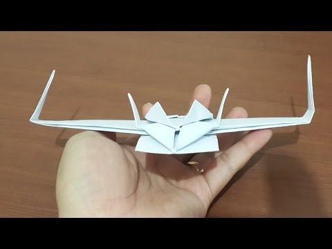 Cara Membuat Origami Pesawat Star Wars