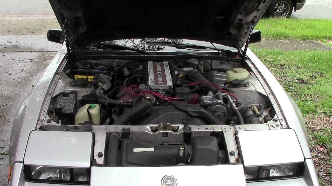 Nissan 300zx For Sale >> Under The Hood Nissan 300ZX Turbo 50th Anniversary Edition FOR SALE - YouTube