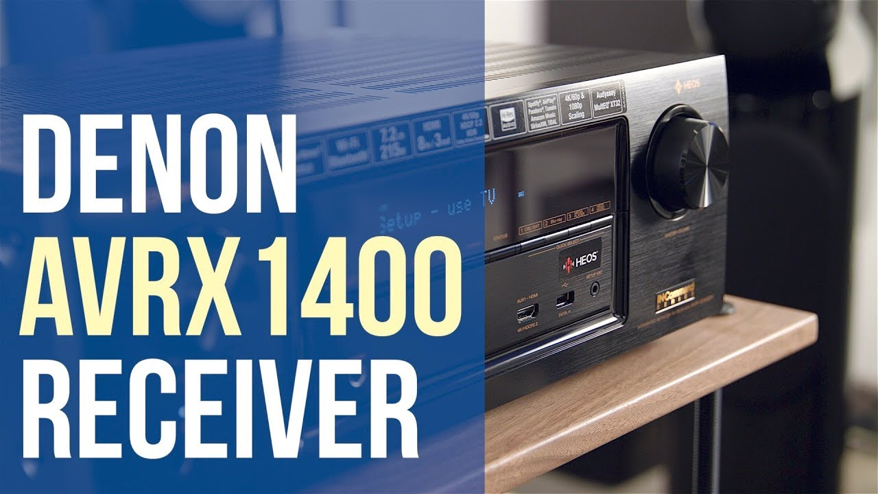 denon receiver avr x1400h overview youtube
