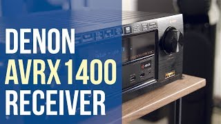 Denon Receiver AVR X1400H Overview