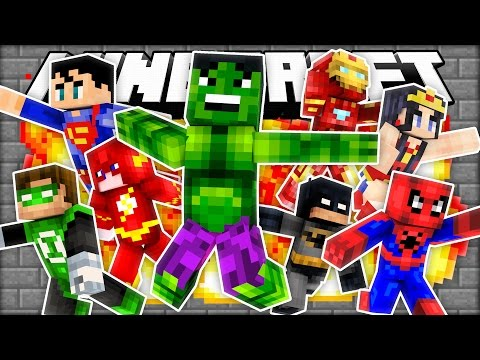 PRESTON BECOMES A SUPER HERO! | Minecraft Mod Showcase (Roleplay)