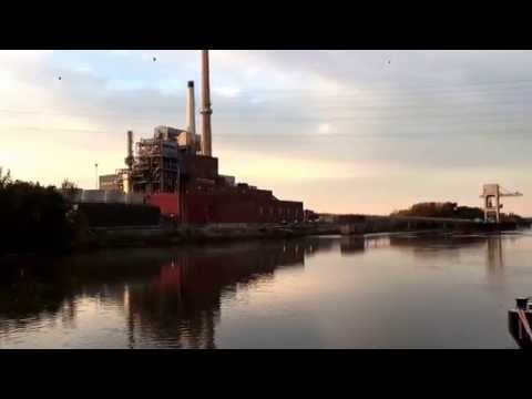 Old power plant on Illinois River