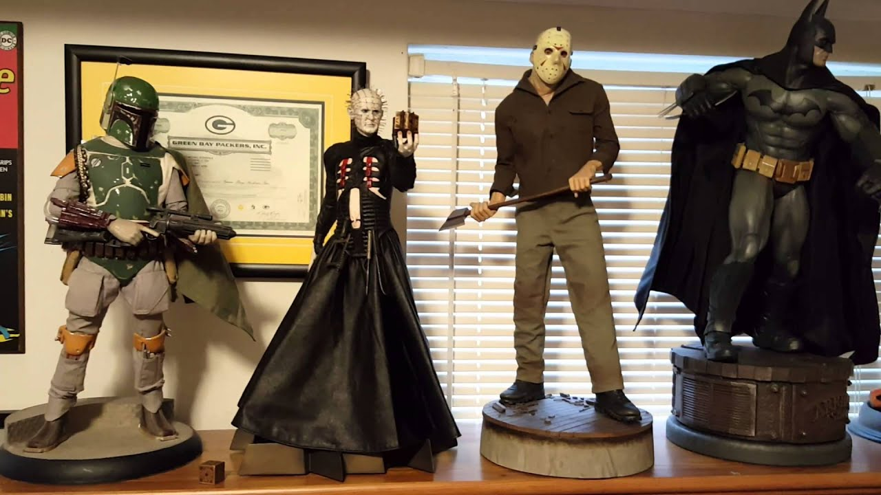pinhead hellraiser sideshow collectibles statue youtube